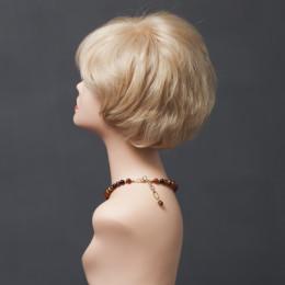 Парик женский из натурального волоса  модель STEPHANIE HH MONO