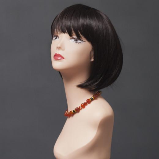 Парик женский из натурального волоса  модель 81425 HH MONO TOP