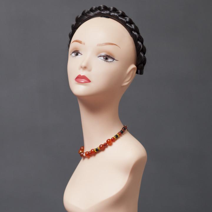Накладная коса N001