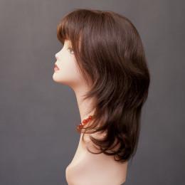 Парик женский из натурального волоса  модель HH SVETLANA MONO