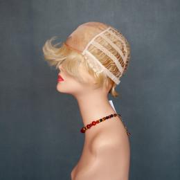 Парик женский из натурального волоса  модель HH MEG MONO