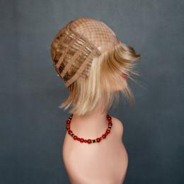 Парик женский из натурального волоса  модель HH INES MONO