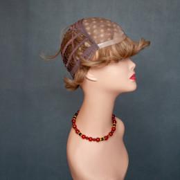 Парик женский из натурального волоса  модель STEPHAN HH MONO